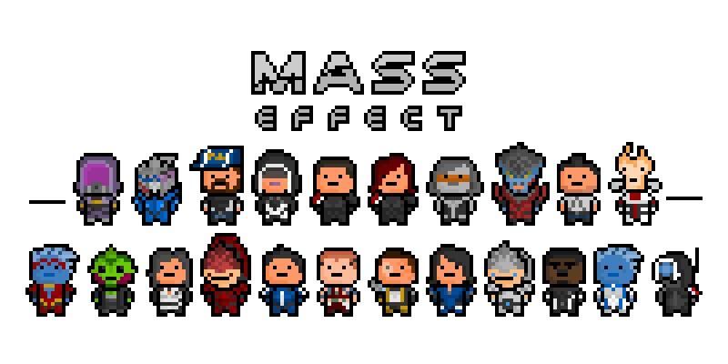8 bit mass effect