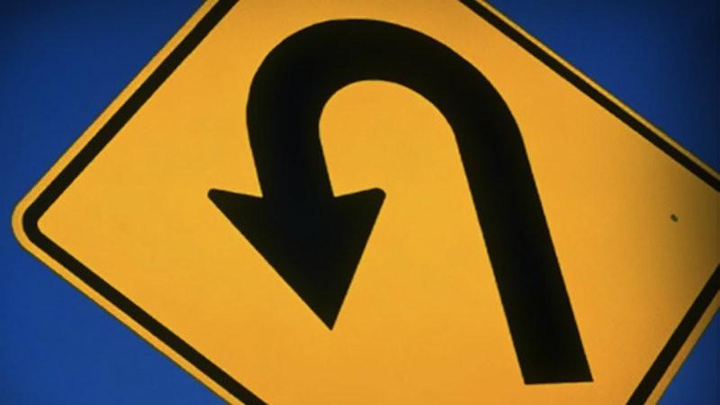 Uturn sign