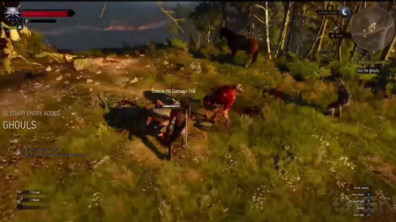 Witcher 3 ghouls