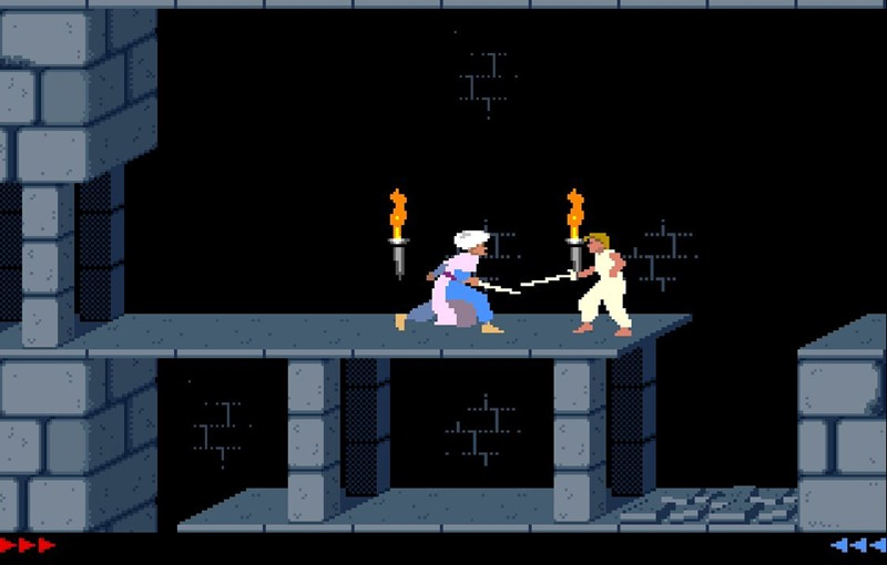 Casual sword fighting