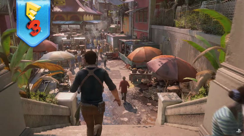 Sony Conclude Their E3 With New Uncharted 4 Gameplay Critical Hit