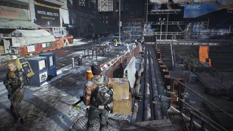 The Division's Dark Zone detailed