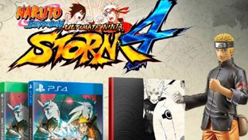 Naruto Shippuden Ultimate Ninja Storm 4 CE revealed - Critical Hit