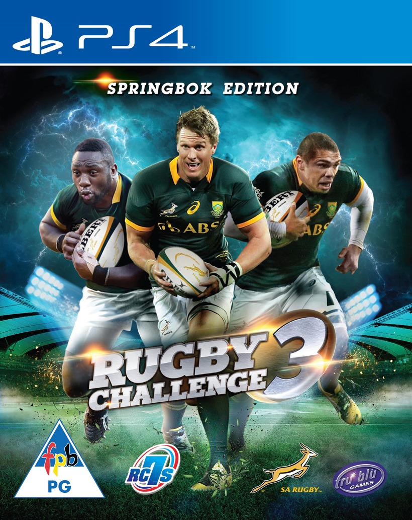 Rugby Challenge 3 Is Getting A Special Springbok Edition