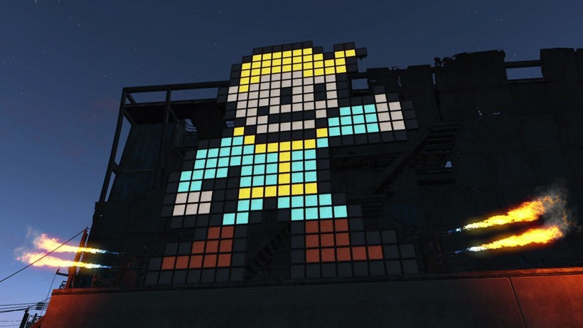 Fallout 4 base building is a lot like minecraft