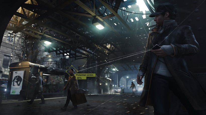 Watch dogs potential victim