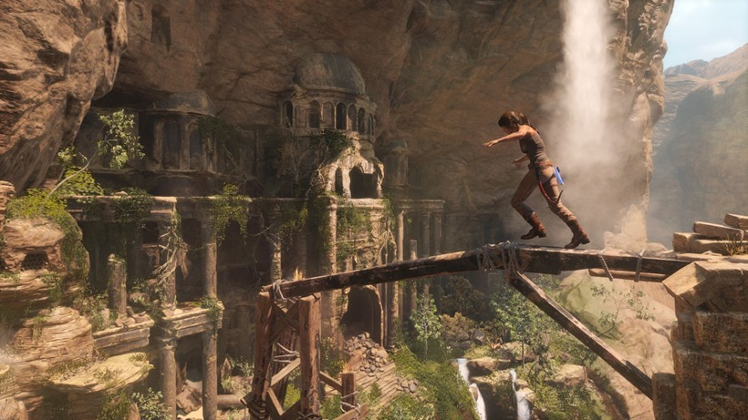 Rise of the Tomb Raider isn't all about killing