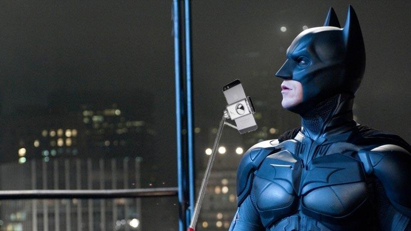 Bat-selfie