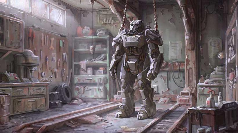 Fallout 4 mech