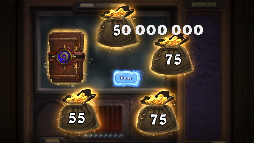 Hearthstone money