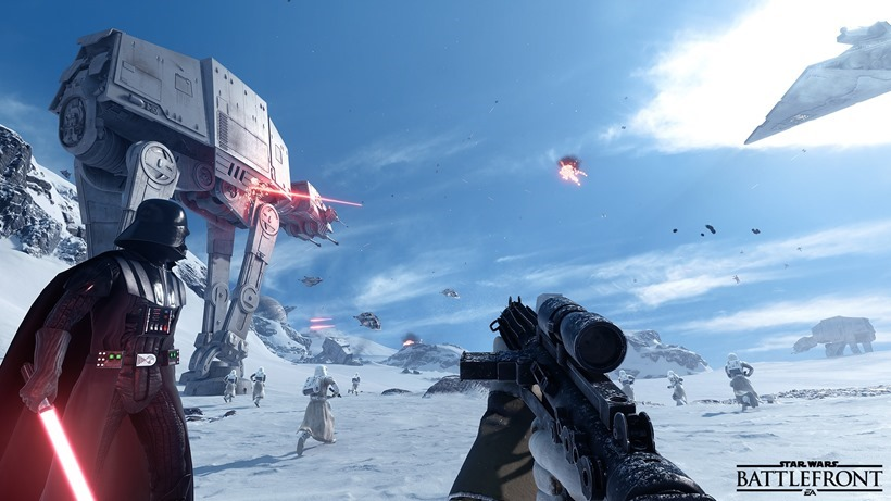 Star Wars Battlefront beta coming next month
