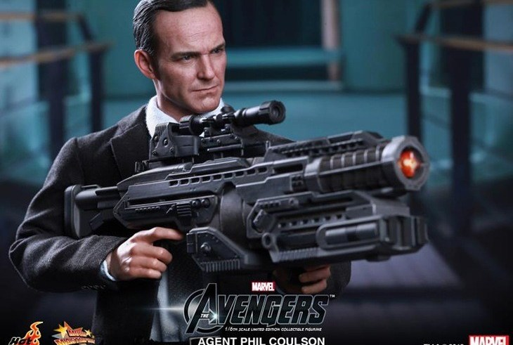 Finally, the Agent Coulson figure that we've all been waiting for 6