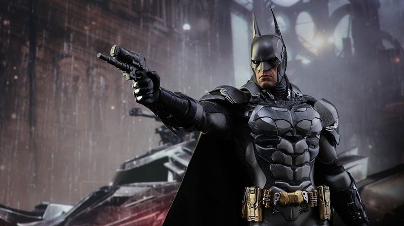 Hot Toys has made a perfect replica of the Arkham Knight Batman 1