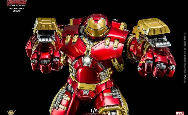 The King Arts Hulkbuster is the Hulkbustiest figure of them all 5