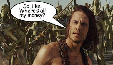 Let's talk John Carter. Is it really bombing at the box office and what could the future hold? 9