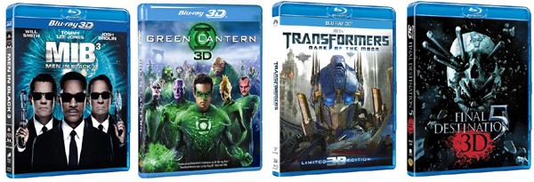 And the 3D Blu Ray hamper winners are... 5