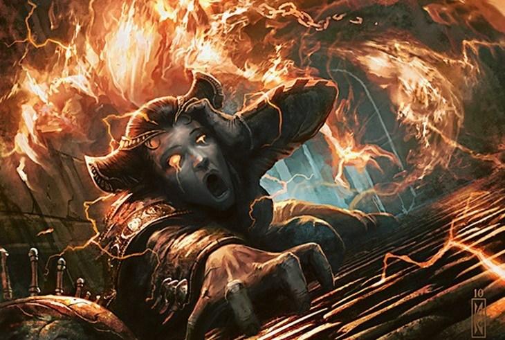 Magic the Gathering - Sweet Revenge event deck: A burning sensation 6
