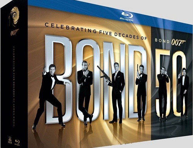 Massive James Bond Blu-Ray 50th Anniversary boxset gets dated and detailed 5