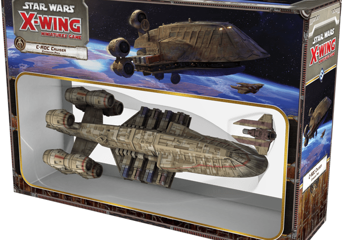Fantasy Flight Games has announced the Epic C-ROC Cruiser Expansion Pack for X-Wing 1
