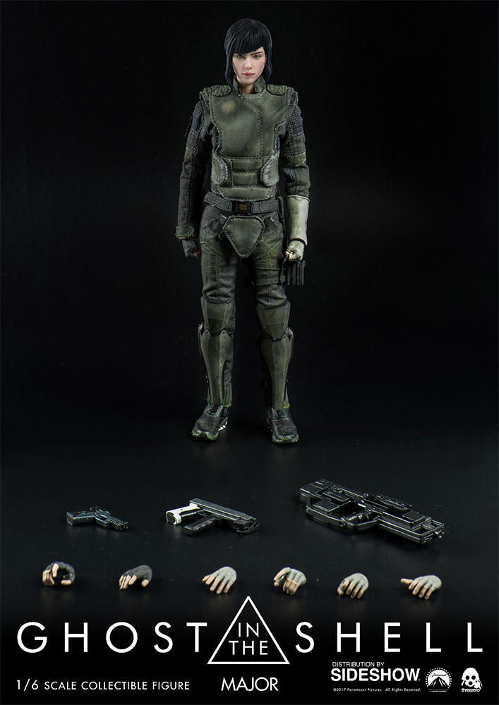 Here S A Major Scarlett Johansson Collectible From Ghost In The Shell