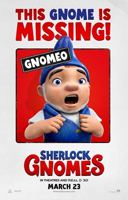 Sherlock Gnomes poster1