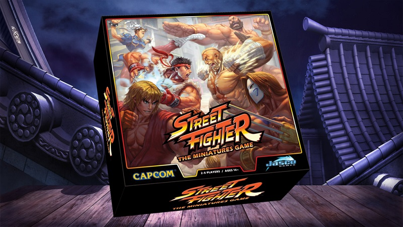 Street Fighter is getting a new board game available exclusively through Kickstarter 1