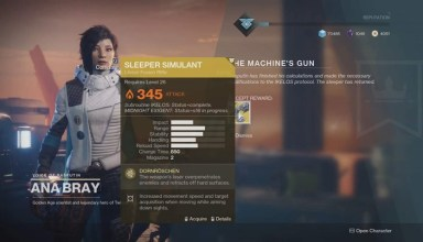 Destiny 2 Warmind – How to get the Sleeper Simulant Exotic weapon 1