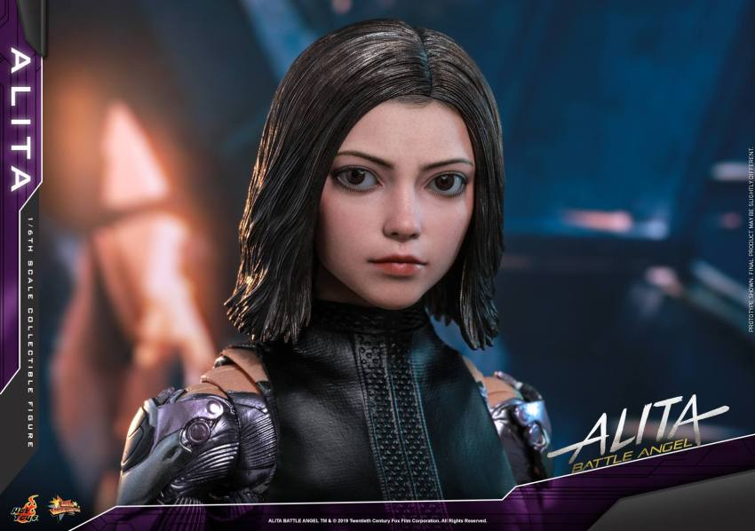 The new Hot Toys Alita: Battle Angel figure can see right into your soul 23