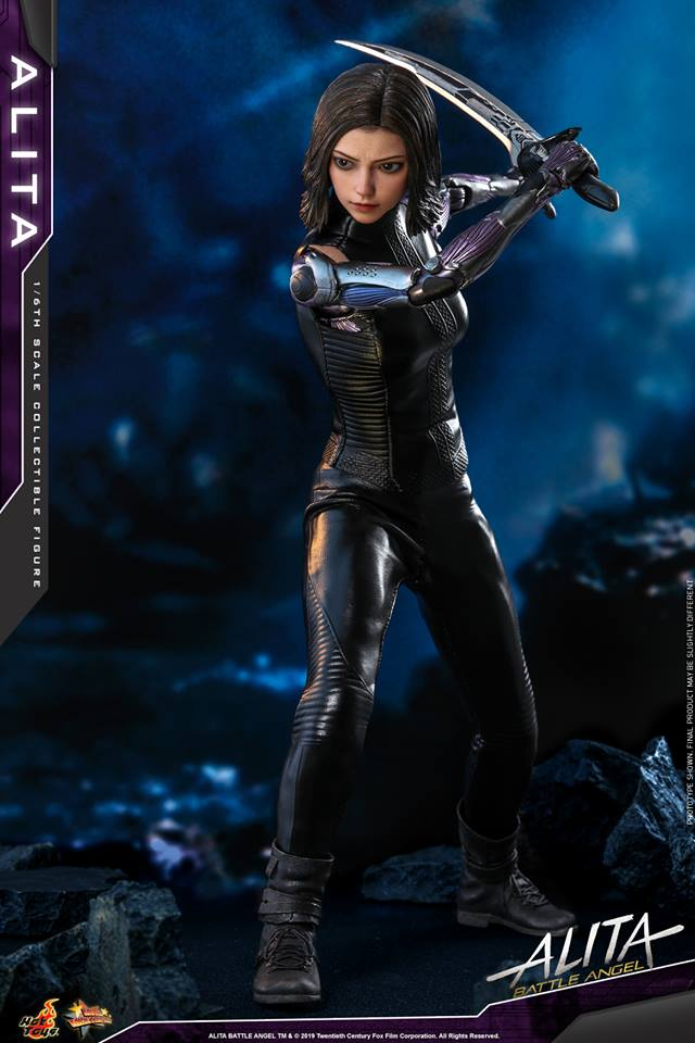 The new Hot Toys Alita: Battle Angel figure can see right into your soul 27