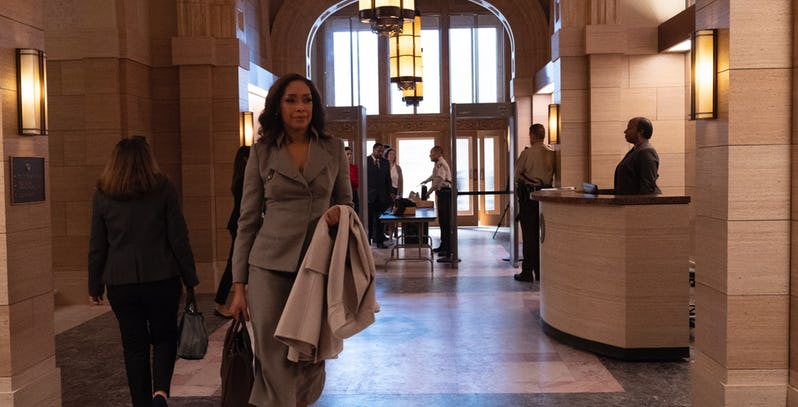 Gina Torres is willing to go far to gain power in this trailer for Suits spin-off series Pearson 2