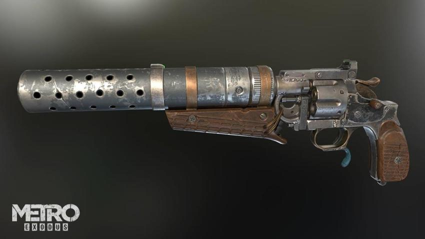 Guns! Glorious guns! Here's a look at the handcrafted arsenal of Metro Exodus 13