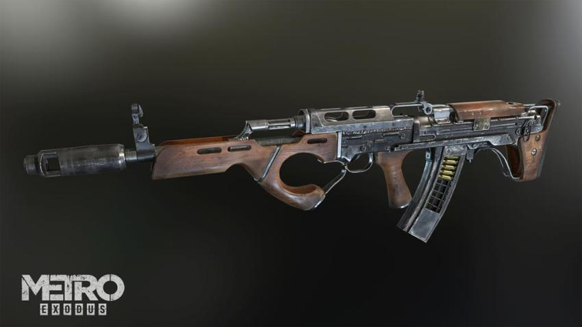 Guns! Glorious guns! Here's a look at the handcrafted arsenal of Metro Exodus 18