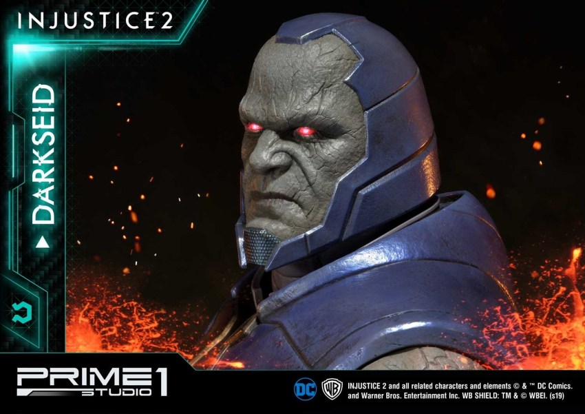 Darkseid is…a $1200 collector's fan dream in this new Prime 1 Studio release 40