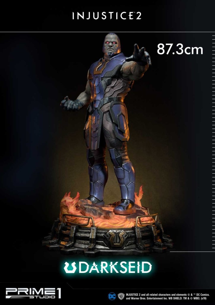 Darkseid is…a $1200 collector's fan dream in this new Prime 1 Studio release 28