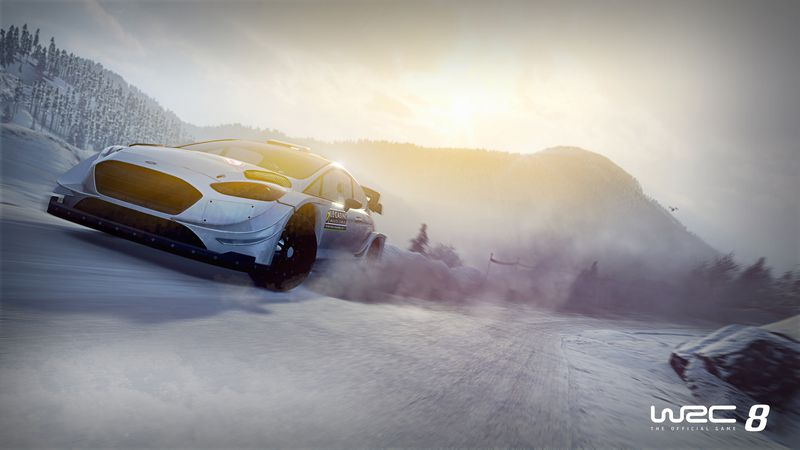 WRC 8 races into 2019 with a new trailer 4