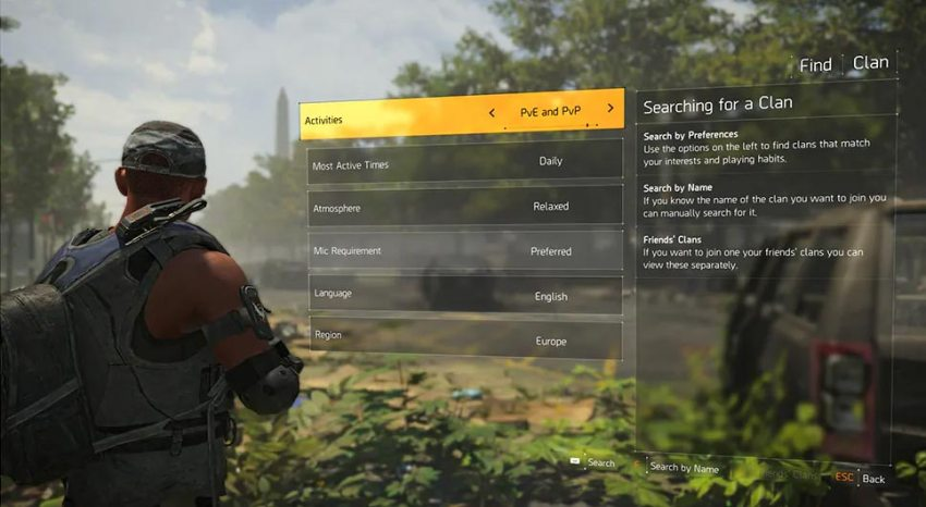 The Division 2 – Ubisoft details how Clans will work 6
