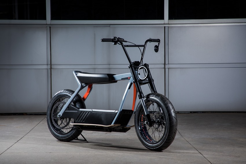Harley Davidson is building an electric scooter 9