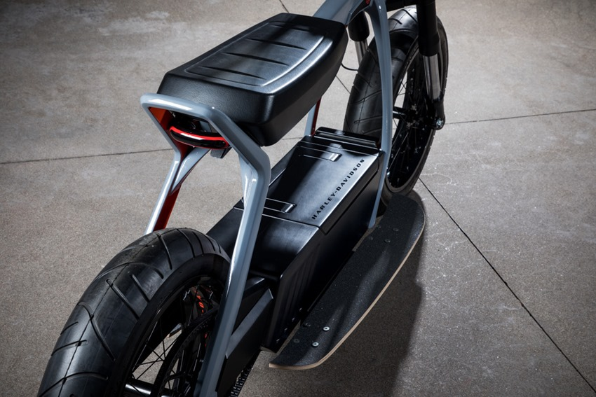 Harley Davidson is building an electric scooter 7