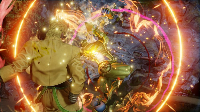 You were expecting other characters to be revealed in Jump Force, but it was me! Dio! 8