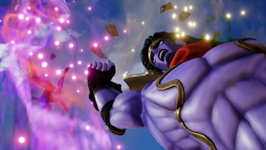 You were expecting other characters to be revealed in Jump Force, but it was me! Dio! 11
