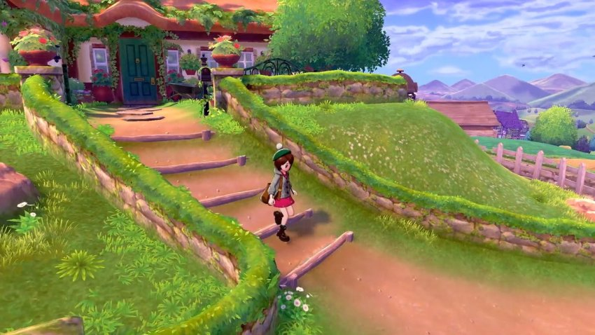 Here S Your First Look At Pokemon Sword And Pokemon Shield