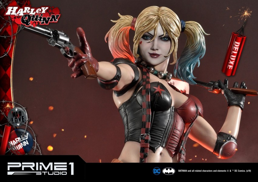 Behold Prime 1's new $1350 Harley Quinn statue, puddin' 44