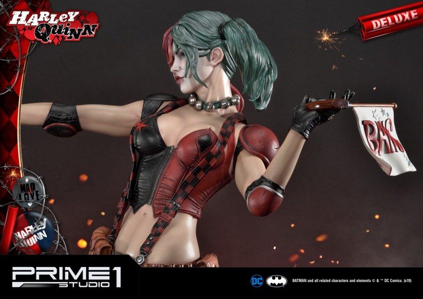 Behold Prime 1's new $1350 Harley Quinn statue, puddin' 45