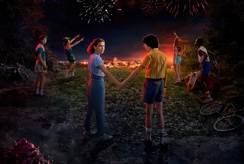 Stranger Things release series three trailer