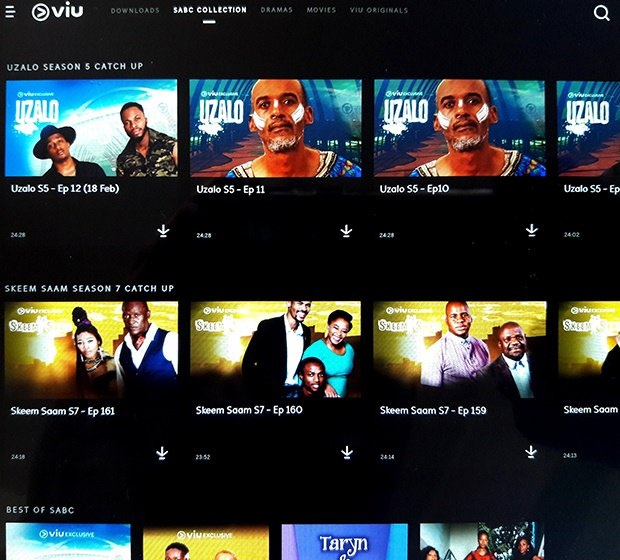A new streaming service Viu arrives in South Africa with a collection of SABC content 4