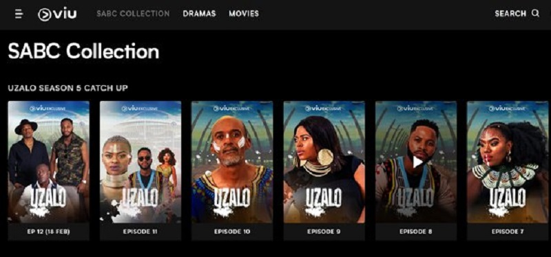 A new streaming service Viu arrives in South Africa with a collection of SABC content 3