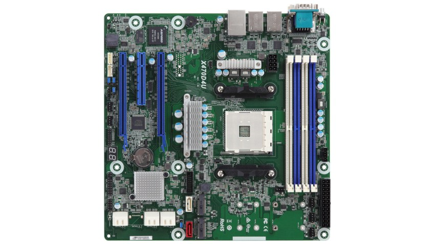 ASRock brings out a socket AM4 motherboard for professionals 4