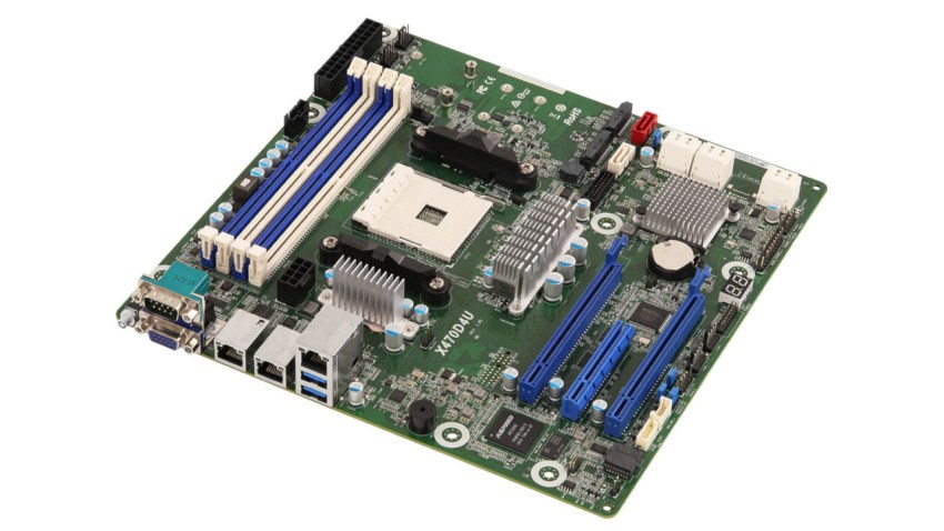ASRock brings out a socket AM4 motherboard for professionals 5