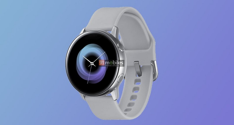 Samsung could be going bezel-less with their new watch design 2