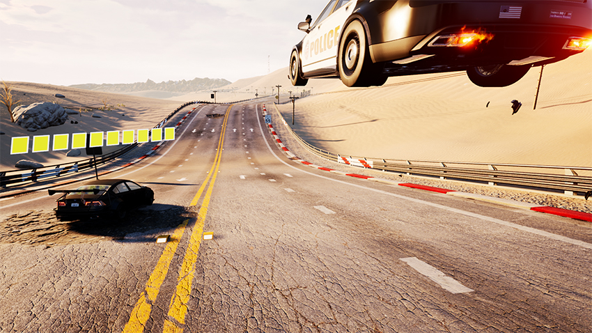 Do some Dangerous Driving this April, thanks to the creators of Burnout 5